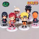 Naruto Sasuke Itachi Set Figuras Chibis 8cm - Precio Por C/u