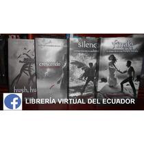 Hush Hush Crescendo Silencio Finale Saga 4 Libros En Oferta