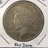Usa - 1934  Moneda De Plata Peace Dollar