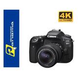 Canon 90d  Video 4k 32.5mp  10 Fps Lente 18-55mm