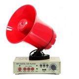 Megáfono Mp3 Usb 12v Amplificador Autos