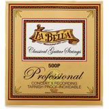 Cuerdas De Guitarra Clasica Profesional La Bella 500p Nylon