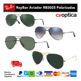 Gafas Ray Ban Aviador Rb3025 Polarizadas 100% Originales