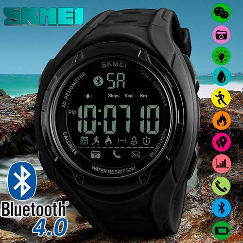 Reloj Skmei Bluetooth Deportivo Digital Iluminación Led