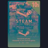Tarjeta De Recarga Para Steam 10 Usd - Juegos Pc - Forest
