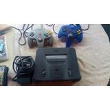 Consolas Nintendo 64, 2 Controles, Sin Cable Electricidad