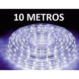 Manguera Led Navideña 10 Metros  Todo Color Decoración Hogar