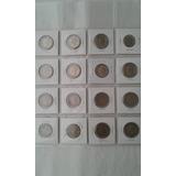 Colecciòn De 16 Monedas De Un Sucre