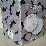 Album Coleccionador Harris Monedas Para Todos Los Dolar Paz