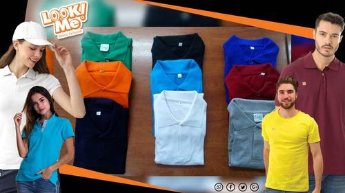 Camisetas Tipo Polo, Cuello Redondo, En V Y Busos