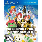 Digimon Story Cyber Sleuth Ps4 Juego Físico Original Sellado