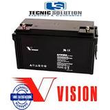 Bateria 12v 100ah Vision Para Alarmas, Ups, Cerco Eléctric