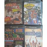 Combo Juegos Game Cube Coleccionista Naruto Wwe Namco Crash