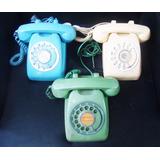 Teléfonos Antiguos De Discos