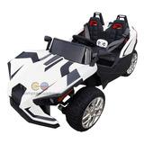 Play Go Carro A Bateria Tipo Polaris 12v Bluetooth Usb