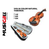 Violin 4/4 Natural Nuevos