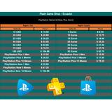 Tarjetas Prepago Playstation Network Card Usa España Psn