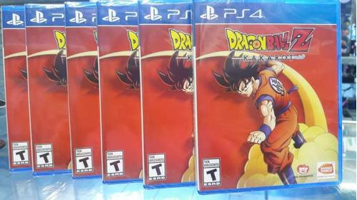 Dragon Ball Z Kakarot Ps4 Fisico - Sellado + Dlc Local