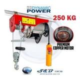 Wincha Tecle Electrico Hoist 250kg/ 500lb.