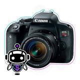 P R O F E S I O N A L Canon T7i + Tripode + Maleta + 128gb !