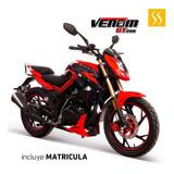 Moto Tundra Venom 2020 Motor 4 Tiempos Tanque De 15 Ltrs