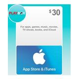 App Store & Itunes Gift Card Tarjeta Apple $30 Usa