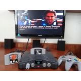 Nintendo 64 N64 Con Juegos Y Control