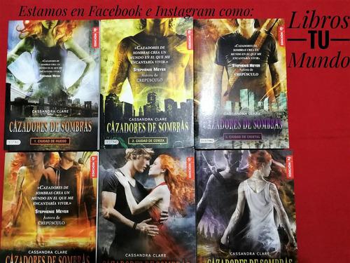 Cazadores De Sombras Saga De 6 Libros Nuevos Cassandra Clare