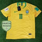 5087e52b8231b Camisetas Brasil Mundial Rusia 2018 Titular Alterna Neymar