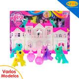 Juguete Set Casa Pony My Happy Horse Varios Modelos