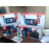 Nintendo Switch Neon Un Año De Garantia