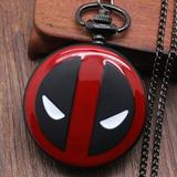 Reloj Colgante Collar De Deadpool De Colección!