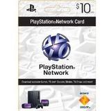 Tarjetas Playstation Network Usa Psn Playstation 3 Psp $10