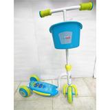 Monopatín Scooter Max Toys 3 Ruedas Niño Niña