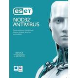 Antivirus Eset Nod32 V13 5pcs 12 Meses Licencia Original