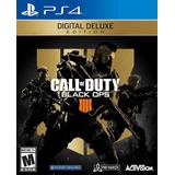 Call Of Duty Black Ops 4 Deluxe + Juegos Gratis Digital Ps4