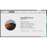 Mac Mini (late 2014) / Core I7 3.0 Ghz / 16 Gb Dd3