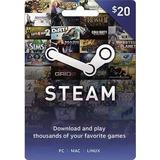 Tarjeta De Recarga Para Steam $20 Juegos Para Pc Mac