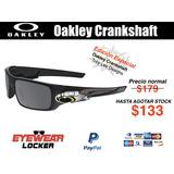 Lentes Oakley Crankshaft Y Gascan 100% Originales