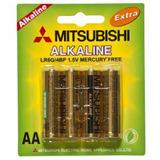 Pilas Mitsubishi Baterias Aa Y Aaa 4 Unid Precio Mayorista