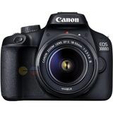 Canon Cámara Eos 3000d 18 Mp Wifi Lente 18-55mm Lcd 2.7¨