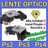 Lentes Ópticos Ps2 / Ps3 / Ps4.....   Gratis Instalación   