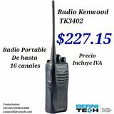 Radio Kenwood Tk3402