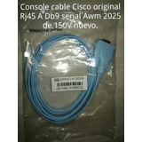 Console Cable Cisco Original Rj45 A Db9 Serial