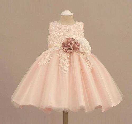 870b9061 Vestidos Elegantes, Bautizos, Fiestas, Niñas Y Bebés