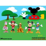 Figuras La Casa De Mickey Mouse Colección Completa