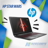 Laptop Hp Star Wars Special Edition, 4gb Ram, 14 Pulg, Video