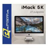 iMac 27  5k  I5 3.8ghz  2tb 8gb Ram 8gb Video Inlcuye Iva