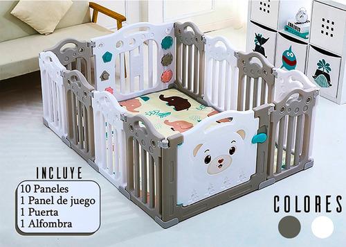 Corral Para Bebé - Extra Grande 153*115*alto 60cm Y Alfombra