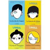 Coleccion Wonder La Lección De August 4 Libros Nuevos